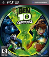 Ben 10 Omniverse PS3 cover (BLUS31017)