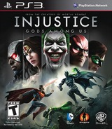 Injustice: Gods Among Us PS3 cover (BLUS31018)