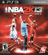 NBA 2K13 PS3 cover (BLUS31028)