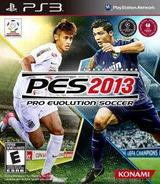 Pro Evolution Soccer 2013 PS3 cover (BLUS31029)