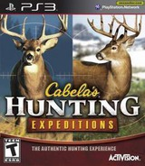 Cabela's Hunting Expeditions PS3 cover (BLUS31030)