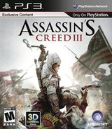 Assassin's Creed III PS3 cover (BLUS31035)