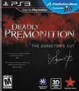 Deadly Premonition: The Director's Cut PS3 cover (BLUS31064)