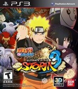 Naruto Shippuden Ultimate Storm Ninja 3 PS3 cover (BLUS31066)