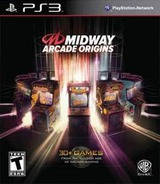 Midway Arcade Origins PS3 cover (BLUS31083)