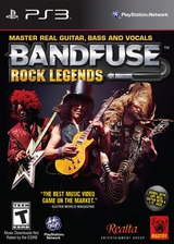 BandFuse: Rock Legends PS3 cover (BLUS31148)