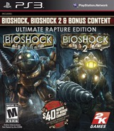 BioShock: Ultimate Rapture Edition PS3 cover (BLUS31149)