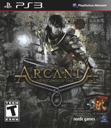 Arcania: The Complete Tale PS3 cover (BLUS31158)