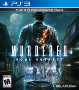 Murdered: Soul Suspect PS3 cover (BLUS31166)