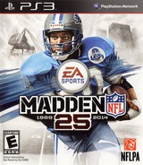 Madden NFL 25 PS3 cover (BLUS31178)