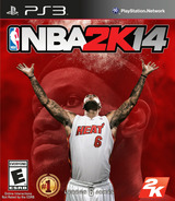 NBA 2K14 PS3 cover (BLUS31204)