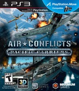 Air Conflicts: Pacific Carriers PS3 cover (BLUS31210)