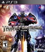 Transformers: Rise of the Dark Spark PS3 cover (BLUS31324)
