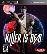 Killer is Dead PS3 cover (BLUS31352)