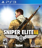 Sniper Elite III PS3 cover (BLUS31401)