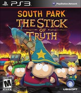 South Park: The Stick of Truth PS3 cover (BLUS31406)