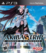 Akiba's Trip: Undead & Undressed PS3 cover (BLUS31425)
