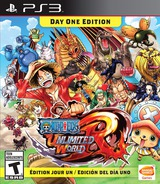 One Piece: Unlimited World Red PS3 cover (BLUS31427)