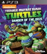 Teenage Mutant Ninja Turtles: Danger of the Ooze PS3 cover (BLUS31435)
