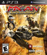 MX vs ATV SUPERCROSS PS3 cover (BLUS31455)