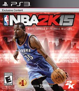 NBA 2K15 PS3 cover (BLUS31456)