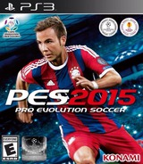 Pro Evolution Soccer 2015 PS3 cover (BLUS31480)