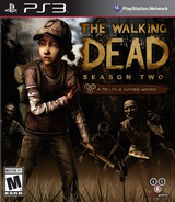 The Walking Dead: Season 2 - A Telltale Games Series PS3 cover (BLUS31488)