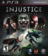 Injustice: Gods Among Us PS3 cover (BLUS41017)