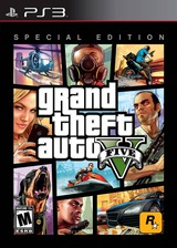 Grand Theft Auto V (Special Edition) PS3 cover (BLUS41019)