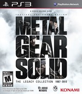 Metal Gear Solid: The Legacy Collection PS3 cover (BLUS41033)