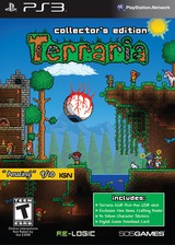 Terraria (Collector's Edition) PS3 cover (BLUS41034)