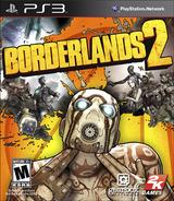 Borderlands 2 PS3 cover (BLUS82001)