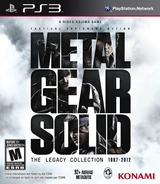 Metal Gear Solid: The Legacy Collection PS3 cover (BLUS83009)