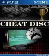 Cheat Disc Homebrew cover (CHET12345)
