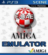 E-UAE: Amiga Emulator Homebrew cover (EUAE00829)