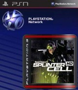 Tom Clancy's Splinter Cell HD SEN cover (NPEB00527)