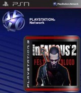 inFamous 2: Festival of Blood SEN cover (NPUA80657)