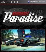 Burnout Paradise SEN cover (NPUB30040)