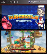 BurgerTime: World Tour SEN cover (NPUB30384)