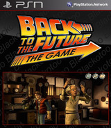 Back to the Future: The Game - Episode 5: OUTATIME SEN cover (NPUB30412)