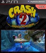 Crash Bandicoot 2: Cortex Strikes Back SEN cover (NPUI94154)