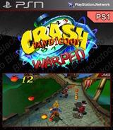 Crash Bandicoot: Warped SEN cover (NPUI94244)