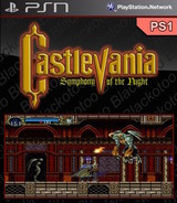 Castlevania: Symphony of the Night SEN cover (NPUJ00067)