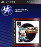 Harvest Moon: Back to Nature SEN cover (NPUJ01115)