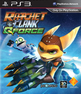 Ratchet & Clank: QForce PS3 cover (BCAS01594)