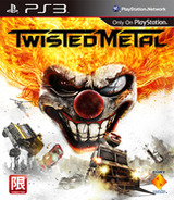 Twisted Metal PS3 cover (BCAS20230)