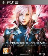 Lightning Returns: Final Fantasy XIII PS3 cover (BCAS20279)
