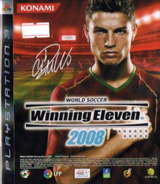 World Soccer Winning Eleven 2008 PS3 cover (BLAS50036)
