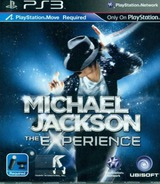 Michael Jackson: The Experience PS3 cover (BLAS50279)