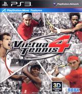 Virtua Tennis 4 PS3 cover (BLAS50333)